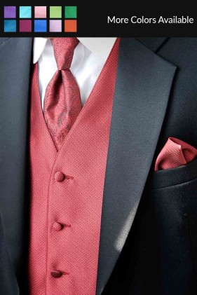 Portofino Vest by Larr Brio Tuxedo Accessories