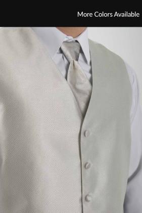 Ivory Vest Tuxedo Accessories